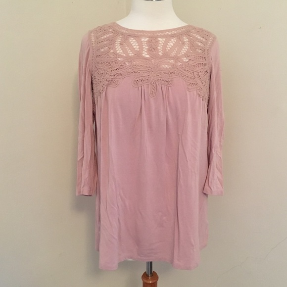 A Pea in the Pod Tops - A Pea in the Pod Dusty Pink Top